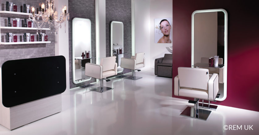 28 professional design layout tips for the perfect salon for Design x salon furniture