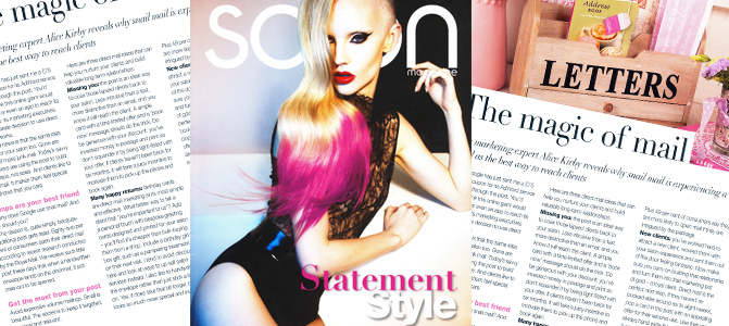 The Salon Magazine - The Magic Of Mail