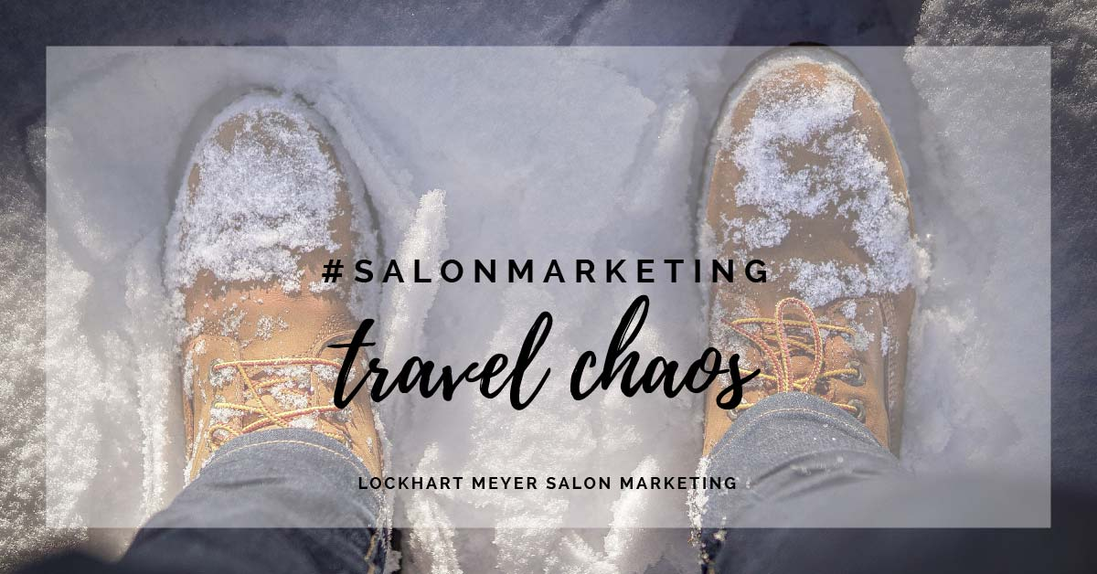 Avert travel chaos: get your team into the salon