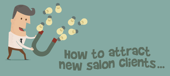 How to attract new client
