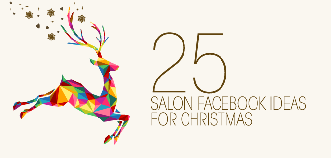 Get the most from your salon Facebook this Christmas