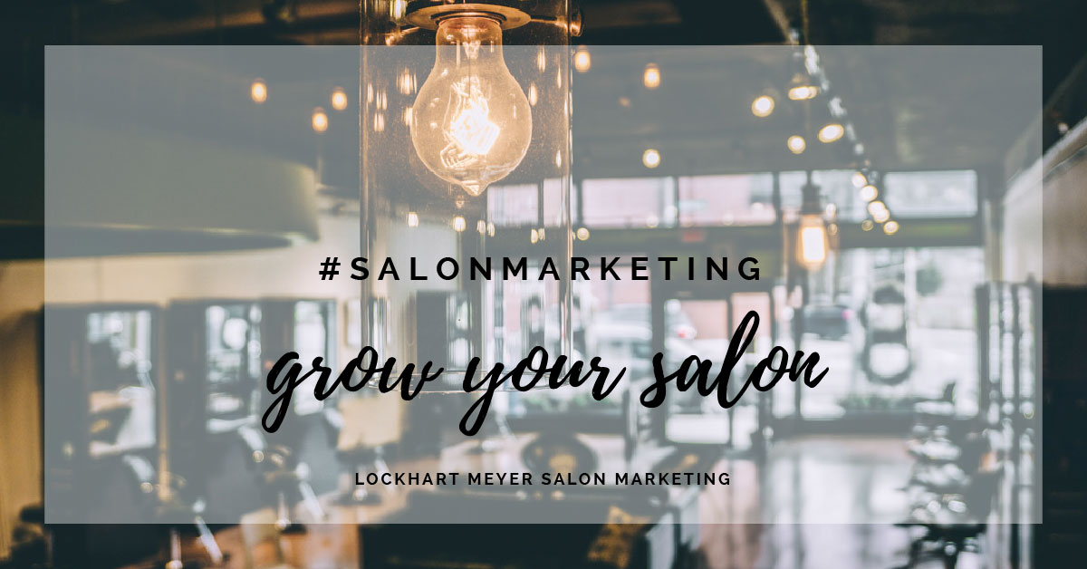 Grow your salon through rebookings