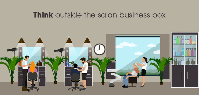 Toss Out Your Salon Mirrors... And Other Business Ideas