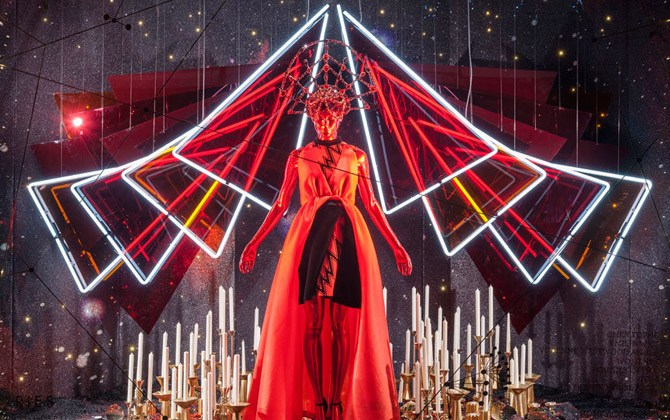 Selfridges Christmas Windows Picture: Andrew Meredith, Daily Telegraph