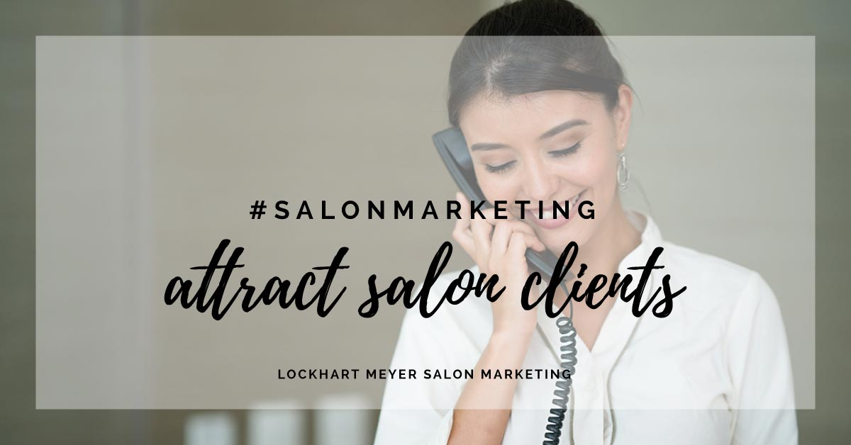 attract salon clients