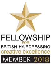 Member of The Fellowship of British Hairdressers
